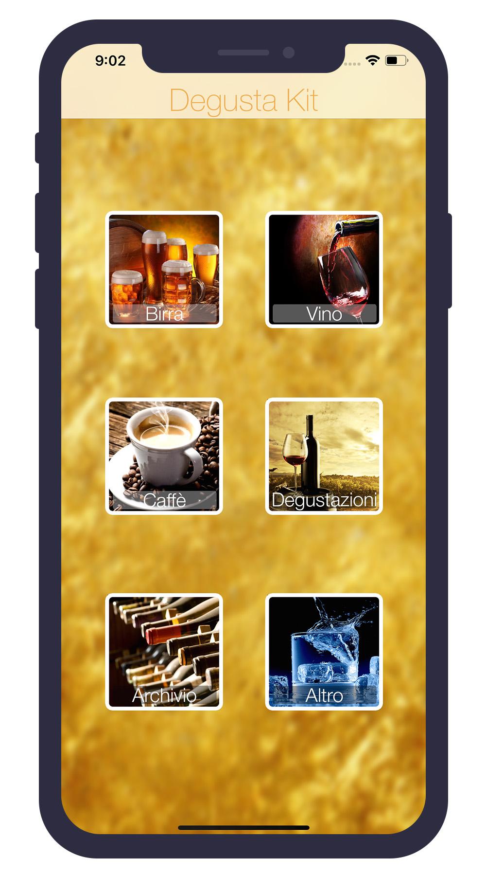 Degusta Kit iPhone