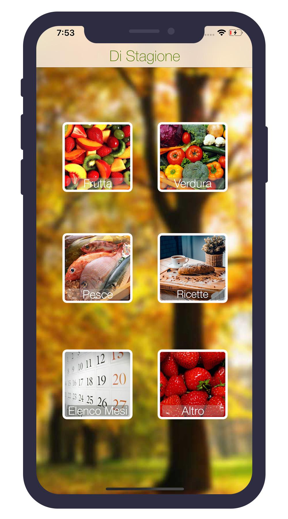 Di Stagione iPhone